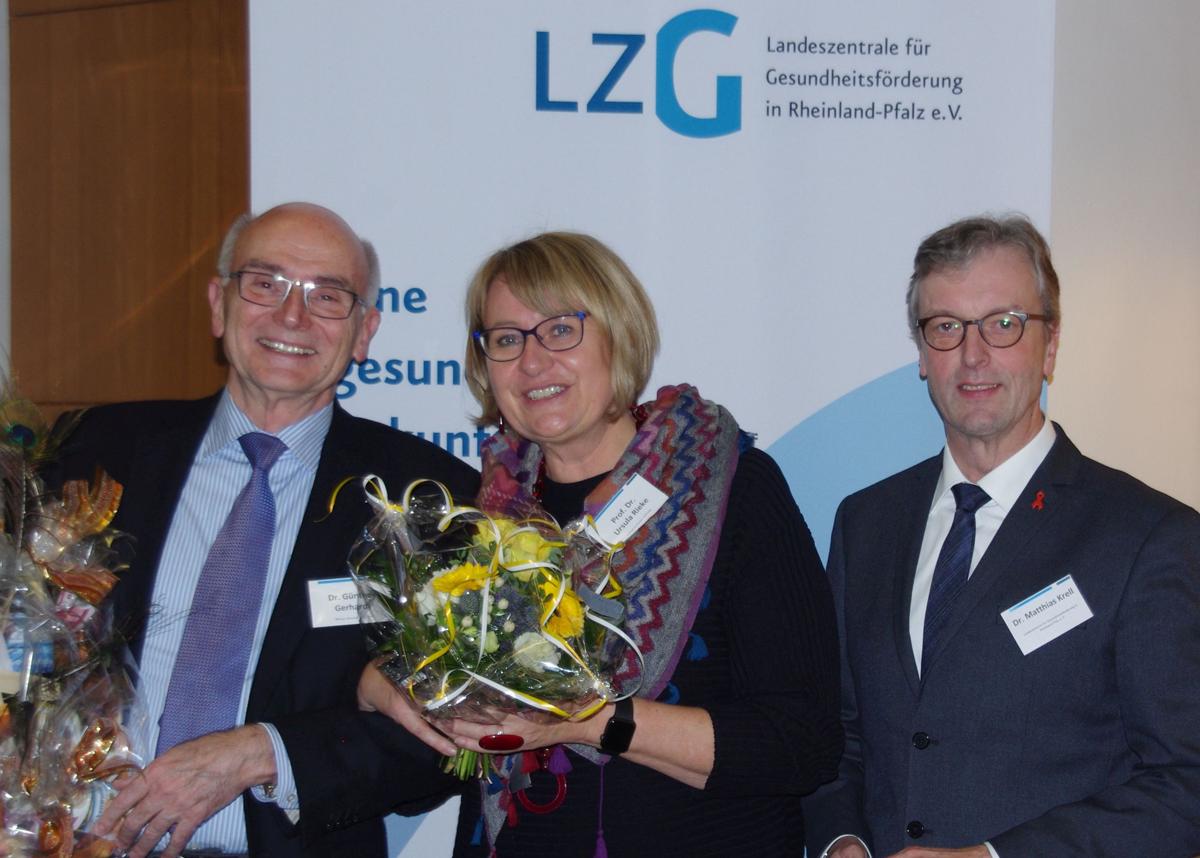Neue Vorstandsvorsitzende für die LZG - LZG (DE)